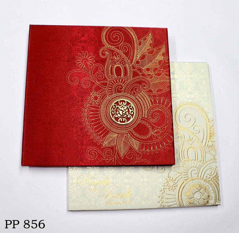buy_royal_satin_red_gold_hindu_wedding_card_vashi