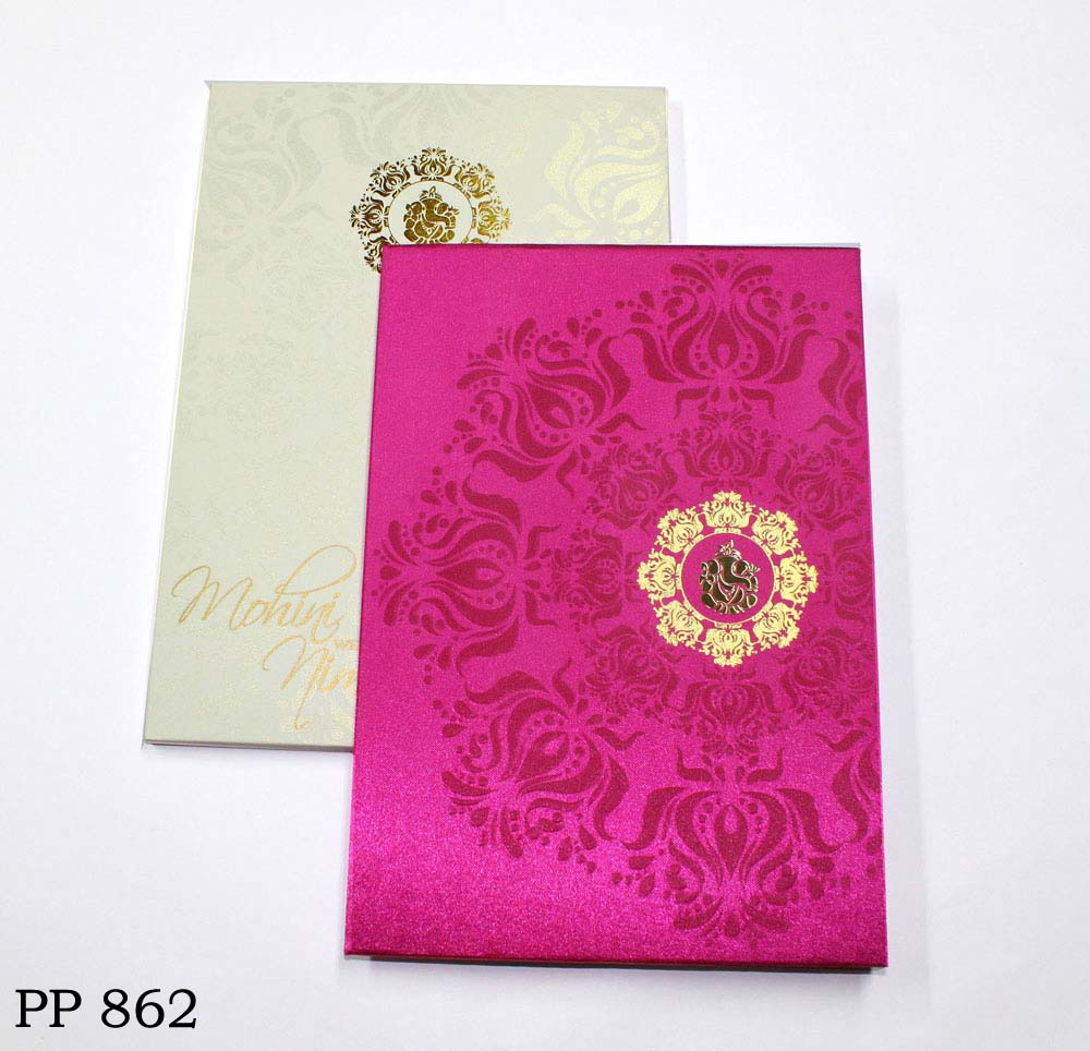 buy_royal_satin_pink_ganesh_hindu_wedding_card2_vashi
